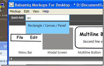 Balsamiq mockup to the rescue – Alkampfer's Place
