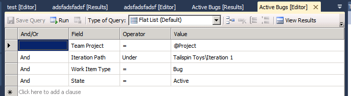 Duplicate queries in tfs between iterations – Alkampfer's Place