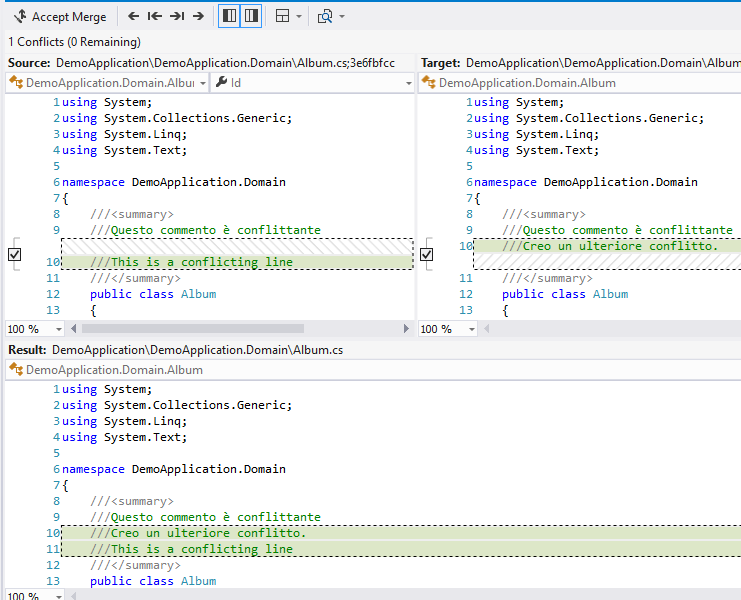 How to Configure diff and Merge Tool in Visual Studio Git