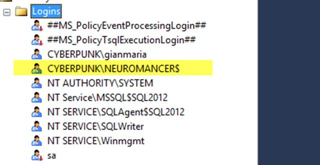 User configuration for WSUS Server in Sql SErver.