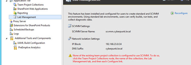 Even if none of the team projection collection is configure, scvmm host is still listed