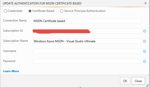 Configuration of an endpoint based on Certificate