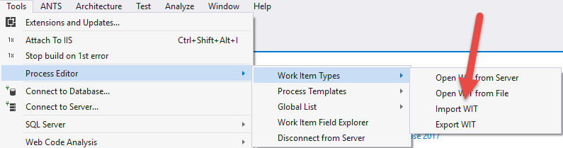 Development and Related Work missing on new UI form after