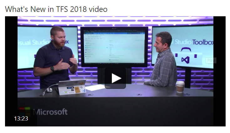 TFS 2018 is out, time to upgrade – Alkampfer's Place