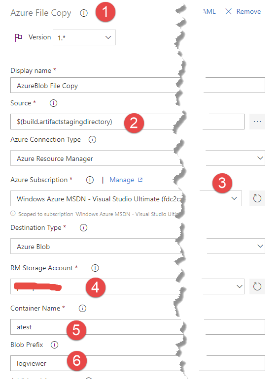 Deploy click-once application on Azure Blob with Azure