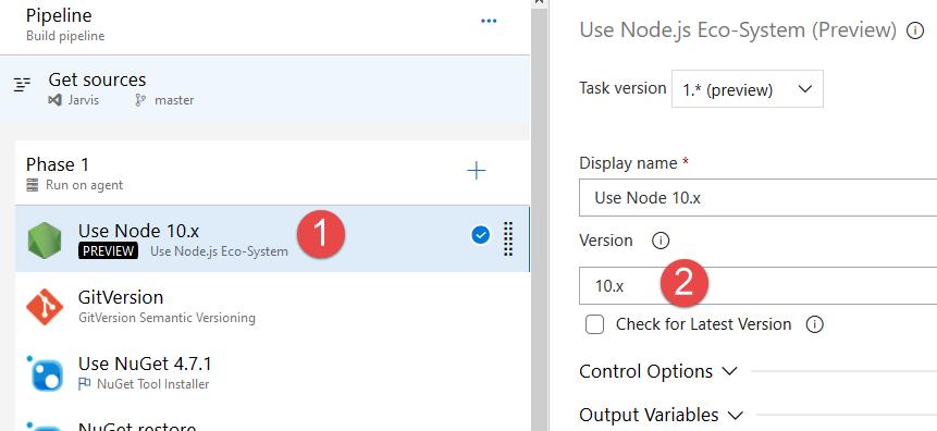 Install latest node version in Azure Pipelines – Alkampfer's